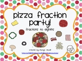 Fractions Practice Activity - Pizza Party!