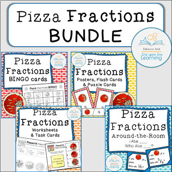 Fractions BUNDLE (Pizza Theme)
