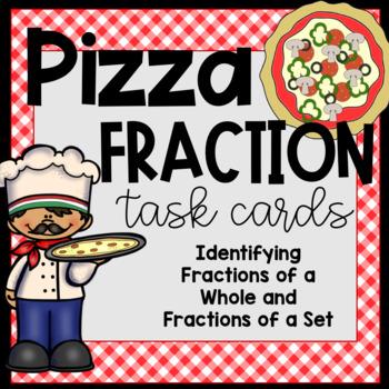 Pizza Fraction Task Cards