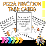 Fraction Task Cards (Pizza Themed)