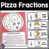 Pizza Fractions - Craftivity, Puzzles, Worksheets