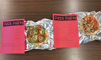 Pizza Party Fraction Sheet