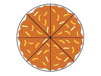 Pizza Fractions Activity! Fun Bulletin Board Idea!