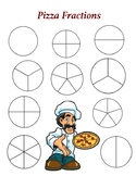 Pizza Fractions - A Game to Identify Fractional Parts of a Whole