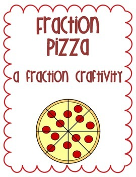 Pizza Fractions Activity