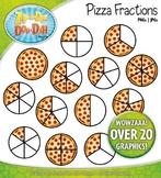 Pizza Fractions Clipart {Zip-A-Dee-Doo-Dah Designs}