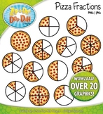 Pizza Fractions Clipart {Zip-A-Dee-Doo-Dah Designs}