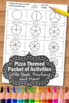 Pizza Fractions Worksheets 3rd Grade Special Education Mat