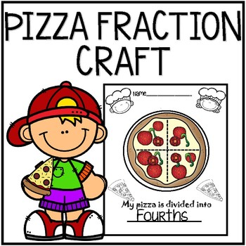 Pizza Fractions Craft