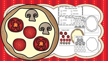 Pizza Fractions - Craftivity