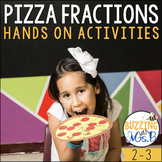 Pizza Fractions Craftivity & Activity Pack