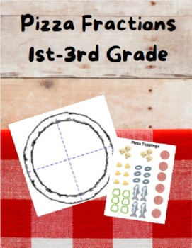 Pizza Fractions--First Grade--Art