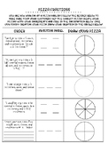 Pizza Fractions (Fraction Review)