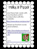 Pizza Fractions - Free task cards