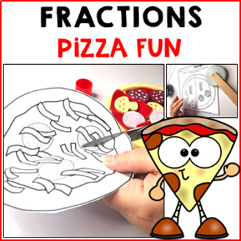 Pizza Fraction Fun 25 Activities Worksheets Games Halves Thirds Quarters