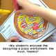Pizza Fraction Fun Activities and Craft Project Halves Thirds Quarters