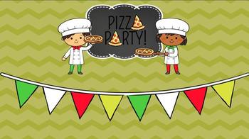 Pizza Fractions Google Slides