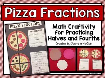 Pizza Fractions Math Craftivity