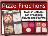 Pizza Fractions Math Craftivity