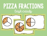 Pizza Fractions Task Cards