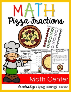 Pizza Fractions (Understanding Fractions as Sums of Unit Fractions) 4.NF.3
