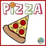 Pizza Fun File Folder Game