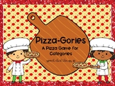 Pizza-Gories: A Pizza Game of Categories (Speech Therapy)