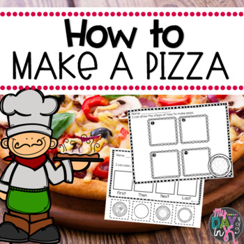 How to Make a Pizza Writing Activities