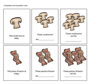 Expressive and Receptive Language Activities with a Pizza Theme