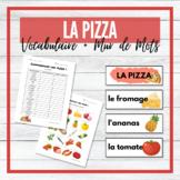 Pizza - La Pizza - Vocabulary Activities