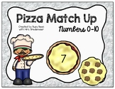 Pizza Match Up Numbers 1-10