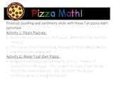 Pizza Math! Eureka Math Centers for PreK and Kindergarten!