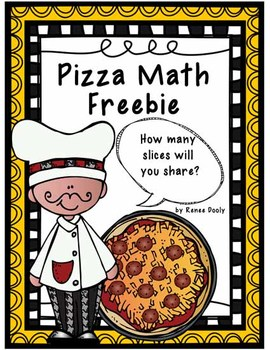 Pizza Math Fraction Freebie