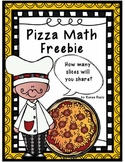 Pizza Math Fraction Freebie