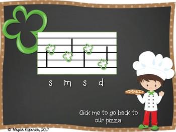 Pizza Melody Practice: Do, Mi, & Sol