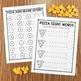 Pizza Mini Eraser Letters and Words