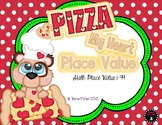 Pizza My Heart Place Value 1-100 Math Center First Second Grade