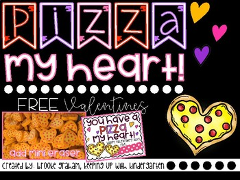 Pizza My Heart Valentines