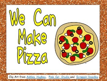 Pizza- Nonfiction Shared Reading- Level C Kindergarten