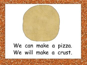 Pizza- Nonfiction Shared Reading- Level C Kindergarten