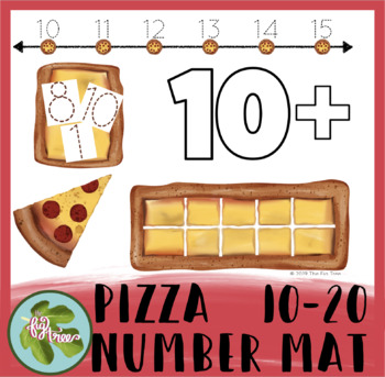 Pizza Number Mat | Numbers 10 - 20