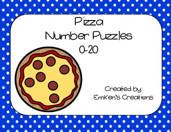 Pizza Number Puzzles 0-20