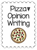 Pizza Opinion Writing