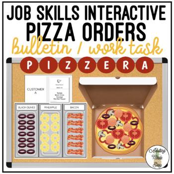 Pizza Order Interactive Bulletin Board