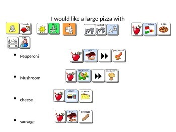 Pizza Order Scripted Conversation Unity 84 Sequenced