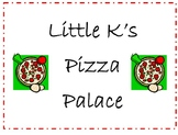 Pizza Palace Dramatic Play