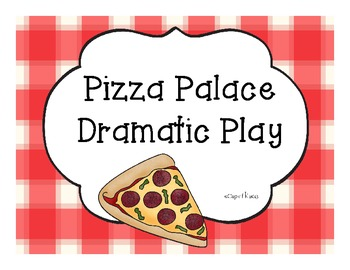 Pizza Palace Dramtic Play