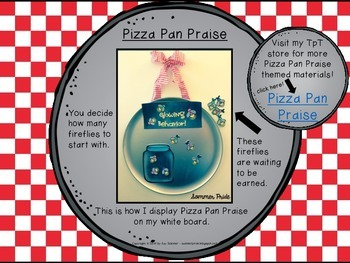 Classroom Management - Pizza Pan Praise {firefly}