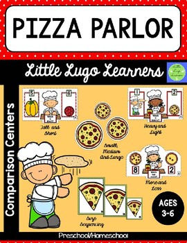 Pizza Parlor 5 Comparison Lessons Bundle