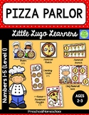 Pizza Parlor 5 Numbers (1-5) Lessons